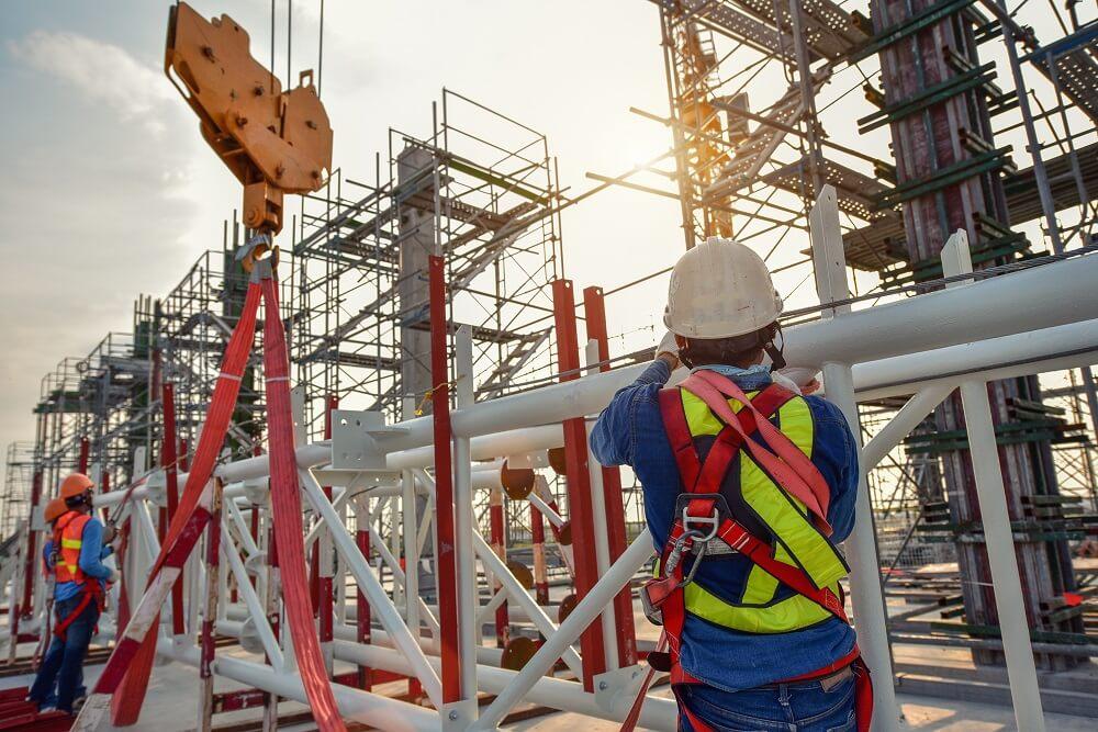 trabalho em altura na Construção Civil